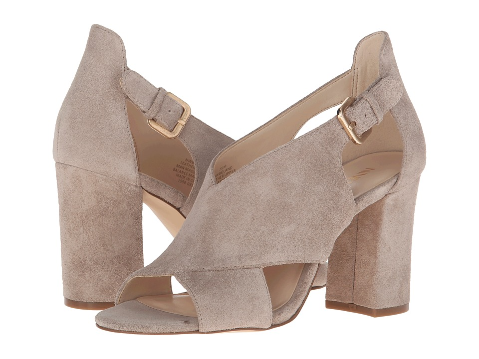 Nine West - Boland (Taupe Suede) High Heels