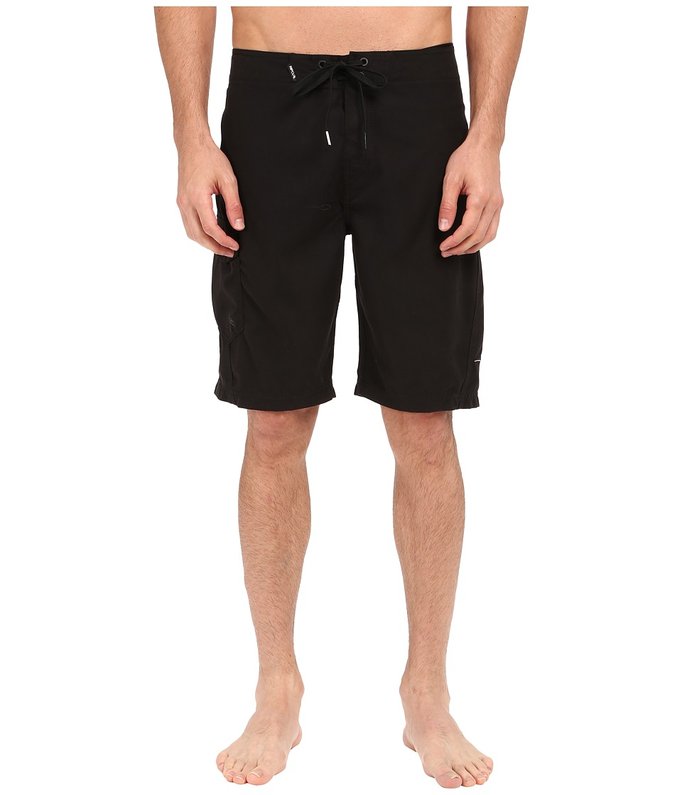 Rip Curl - Dawn Patrol Boardshorts (Black 1) Men's Swimwear