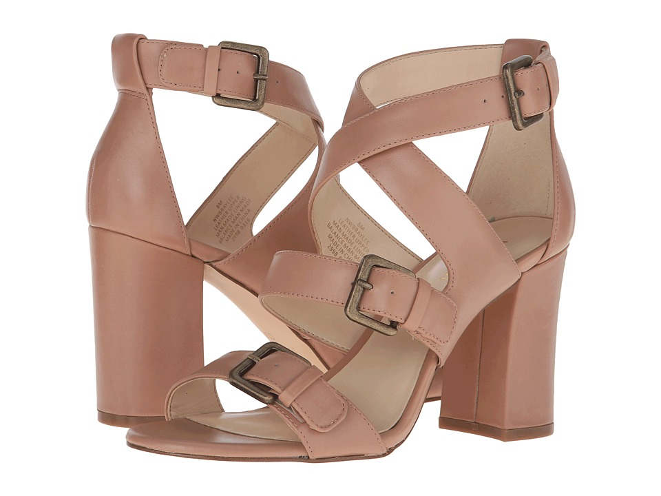 Nine West Braylee Natural Leather High Heels