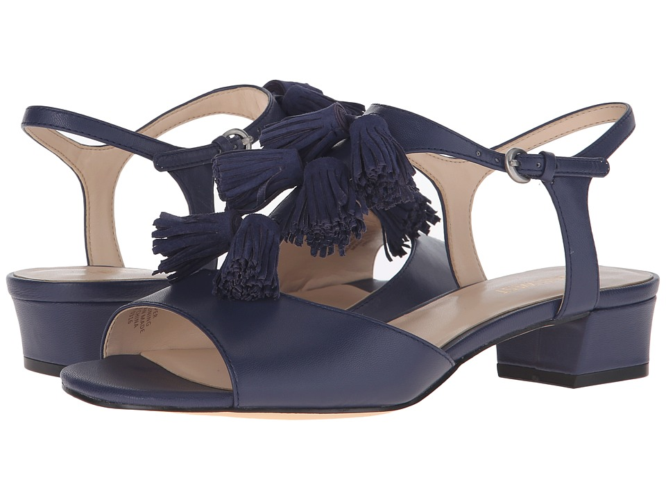 Nine West - Daelyn (Navy/Navy Leather) Women's Sandals
