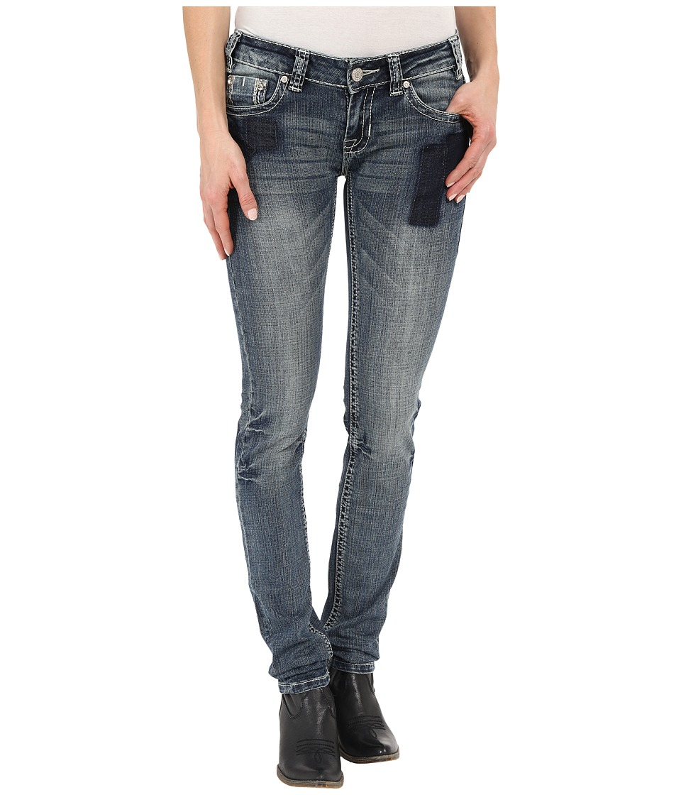 Rock and Roll Cowgirl - Low Rise Skinny in Medium Vintage W0S6425 (Medium Vintage) Women's Jeans