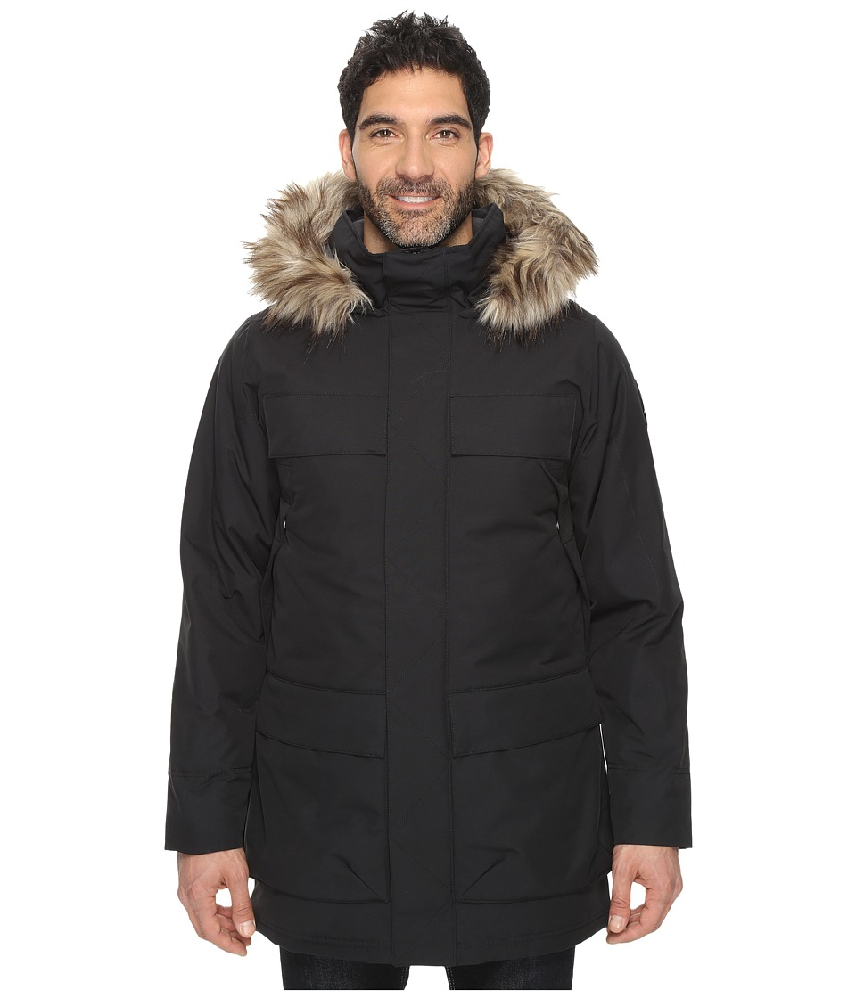 Spyder - Rail Parka (Black) Men's Coat