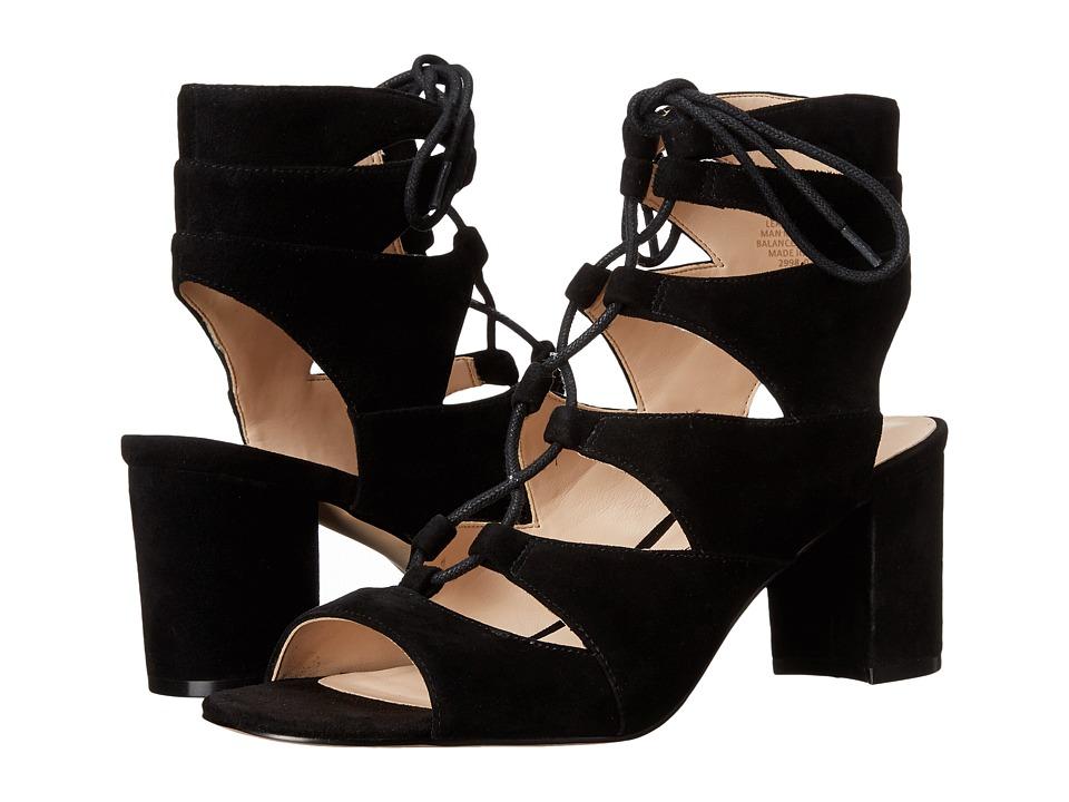 Nine West Takeitup (Black Suede) High Heels