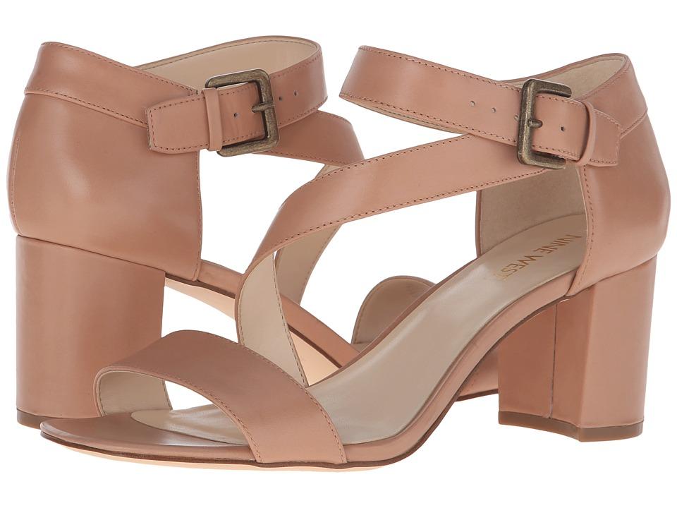 Nine West - Talen (Natural Leather) High Heels
