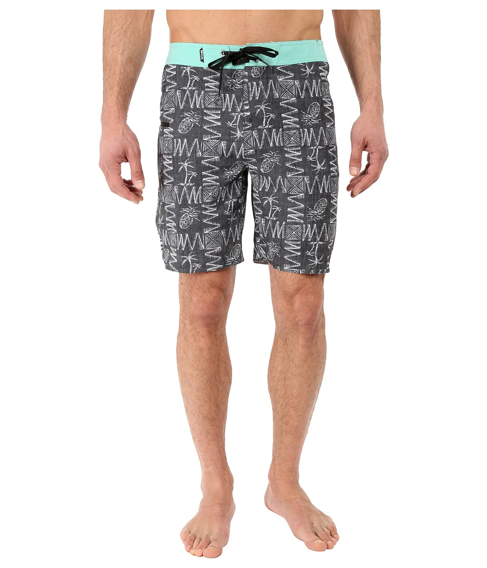 Rip Curl - Mirage Hustle Boardshorts (Black) Men's Swimwear