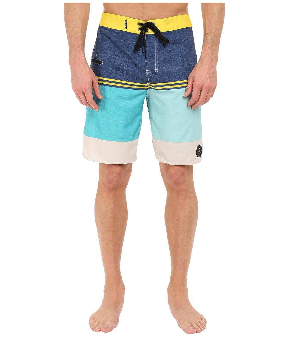 Rip Curl - Mirage Sections Boardshorts (Teal) Men's Swimwear