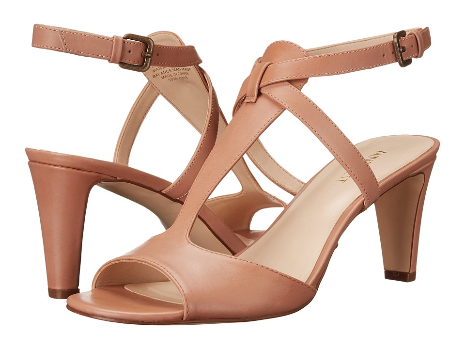 Nine West - Deara (Natural Leather) High Heels