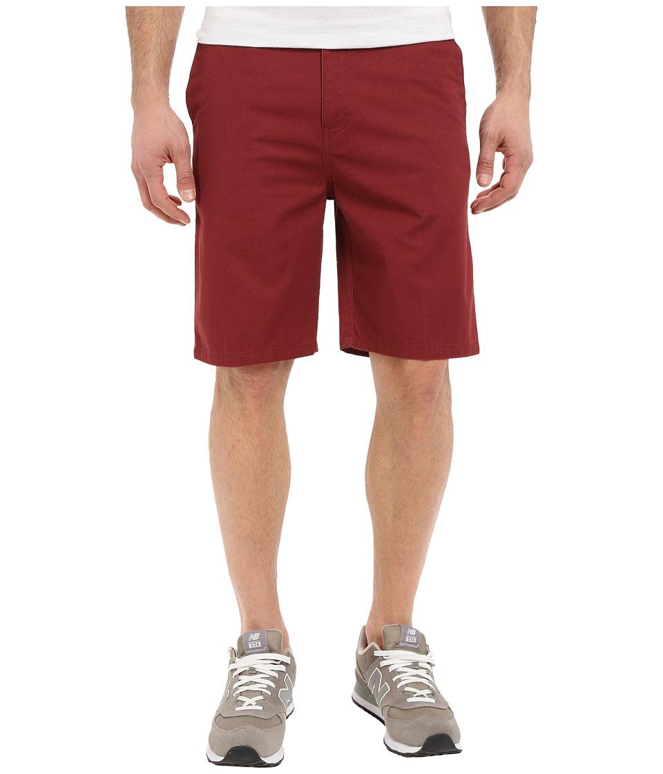 Tavik - Annex Short (Oxblood) Men's Shorts