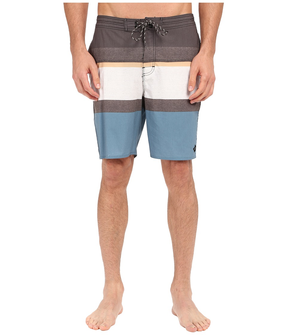 Rip Curl - Rapture Stripe Boardshorts (Black) Men's Swimwear