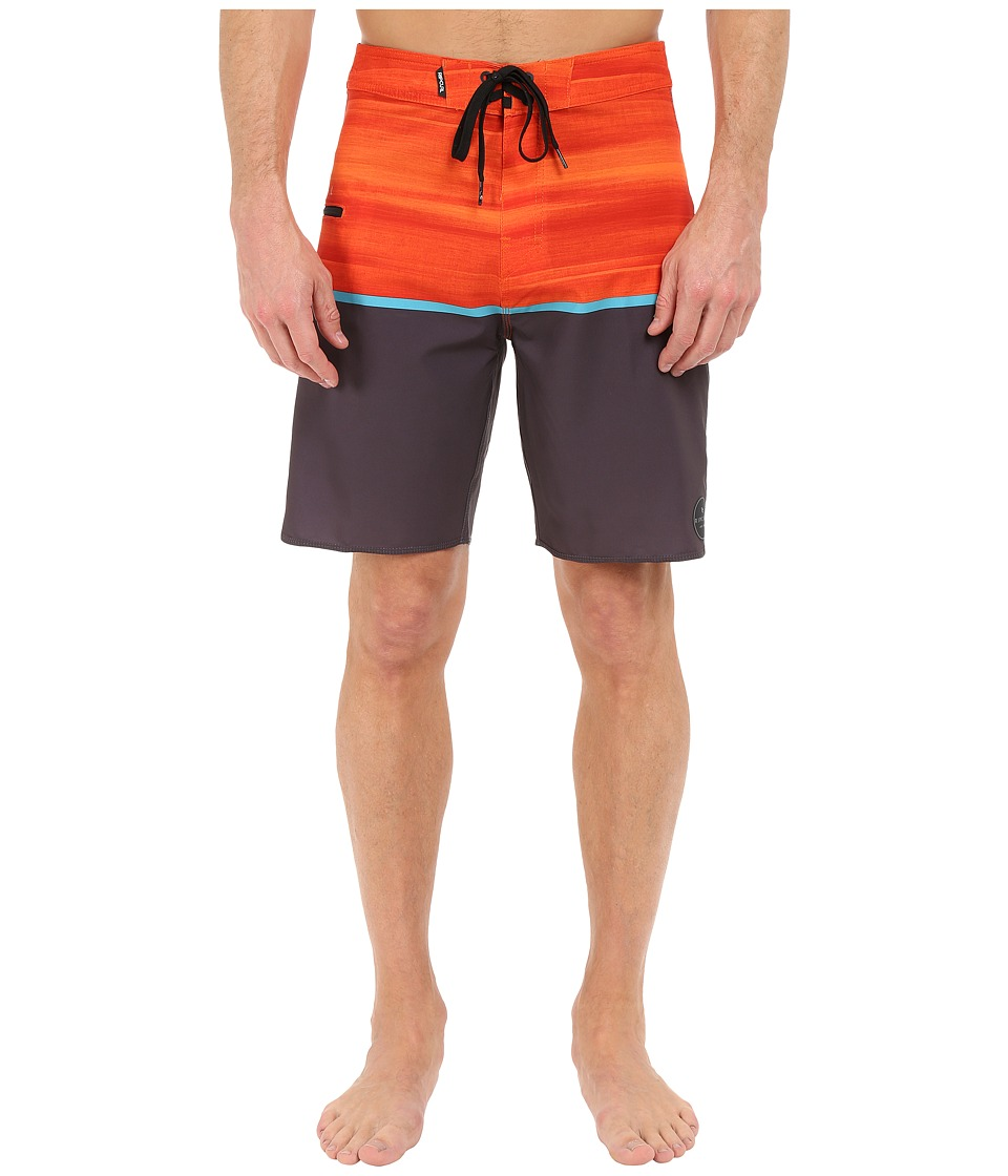 Rip Curl - Mirage Split Boardshorts (Orange) Men's Swimwear