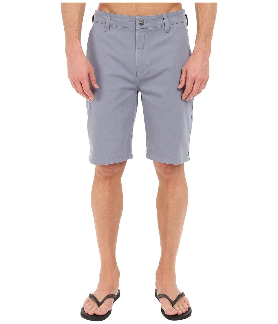 Rip Curl - Epic Stretch Chino Walkshorts (Blue Grey) Men's Shorts