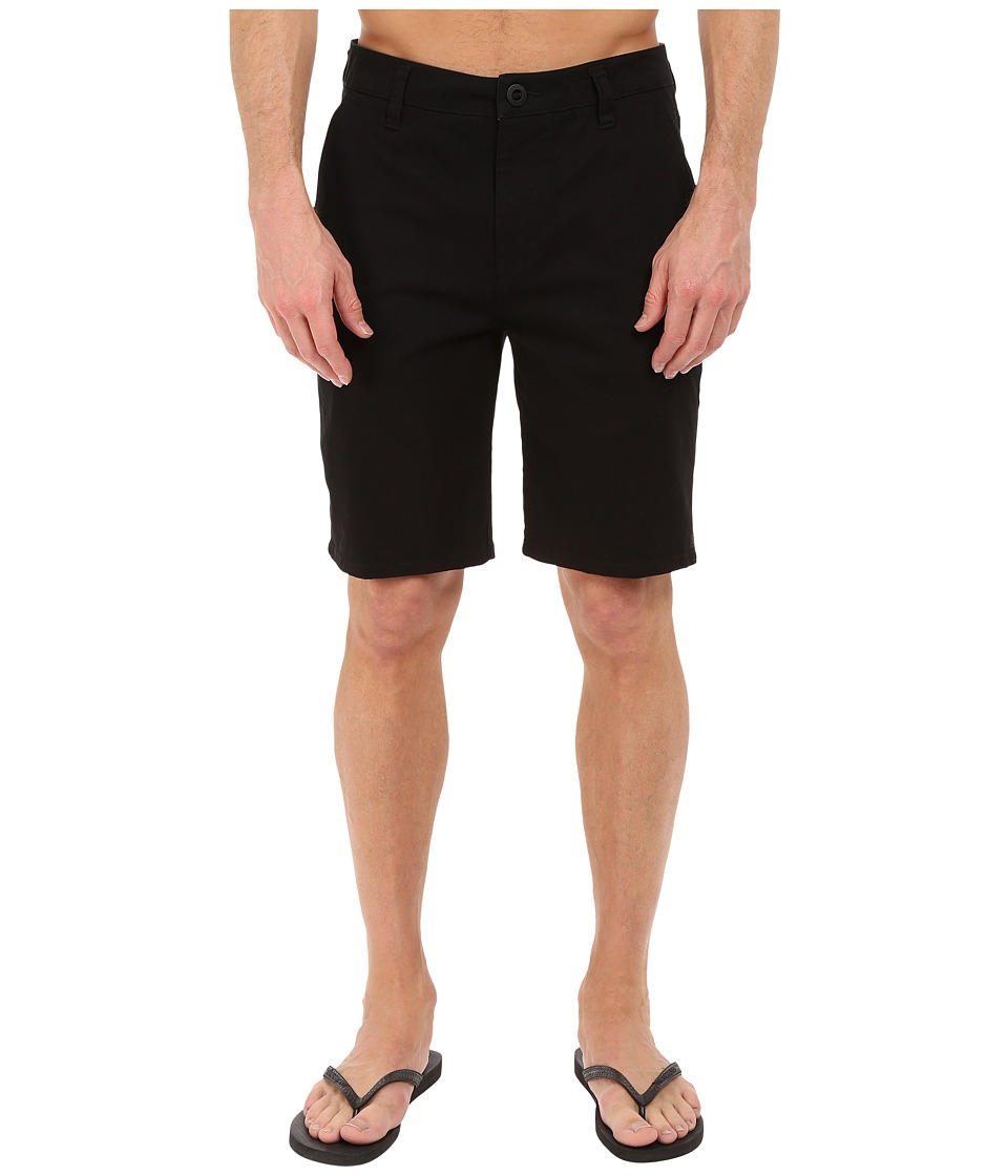 Rip Curl - Epic Stretch Chino Walkshorts (Black) Men's Shorts