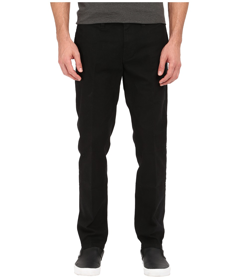 Tavik - Basin Pant (Waxed Jet Black) Men's Casual Pants