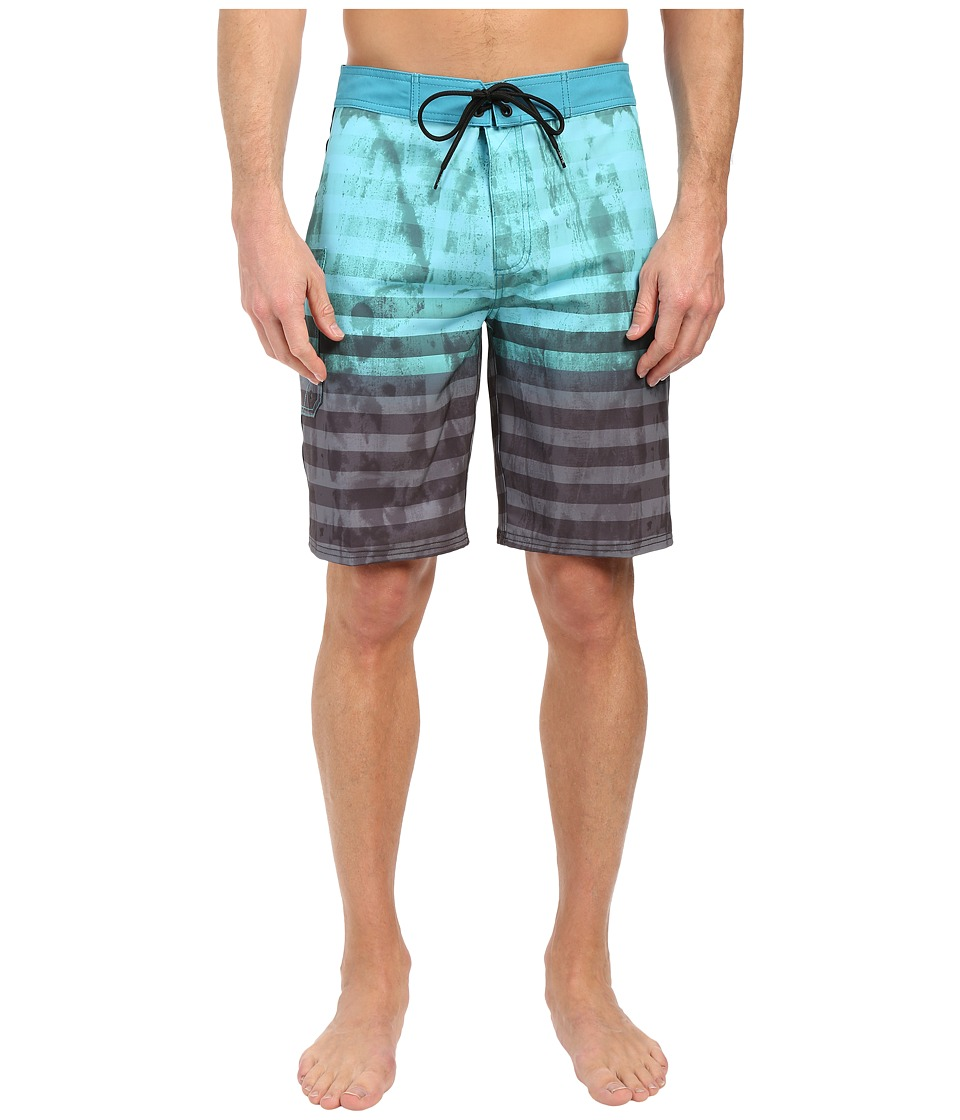 Tavik - Road Boardshorts (Harbor Green) Men's Swimwear