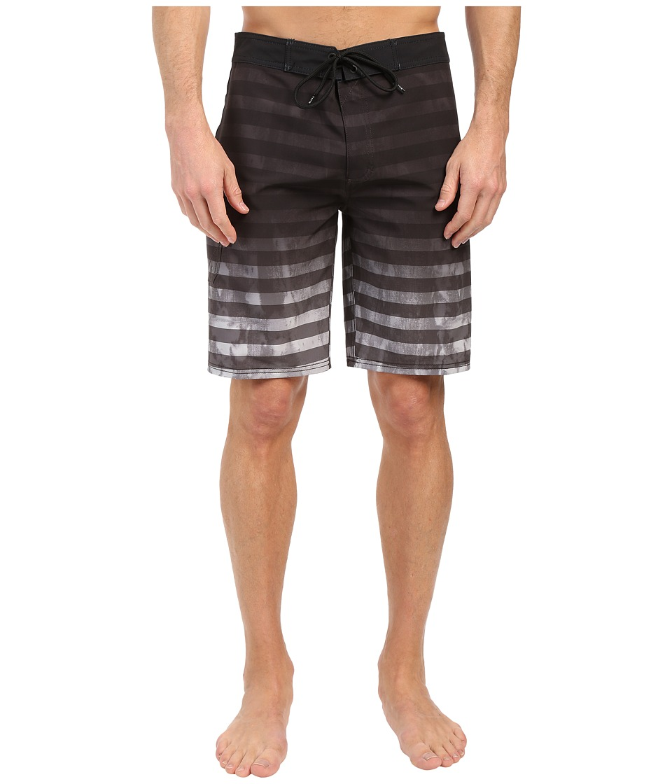 Tavik - Road Boardshorts (Jet Black) Men's Swimwear