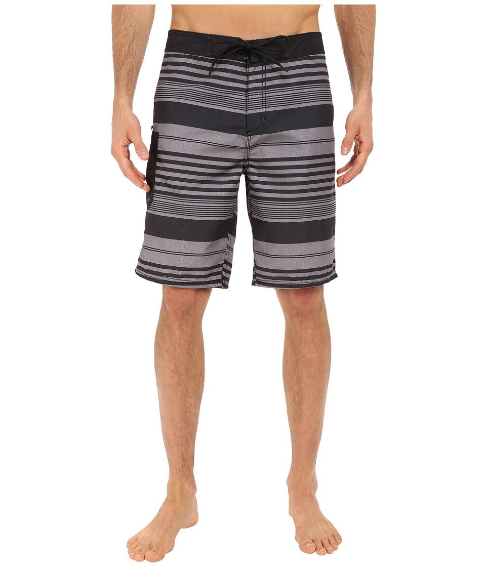 Tavik - Estate Boardshorts (Jet Black) Men's Swimwear