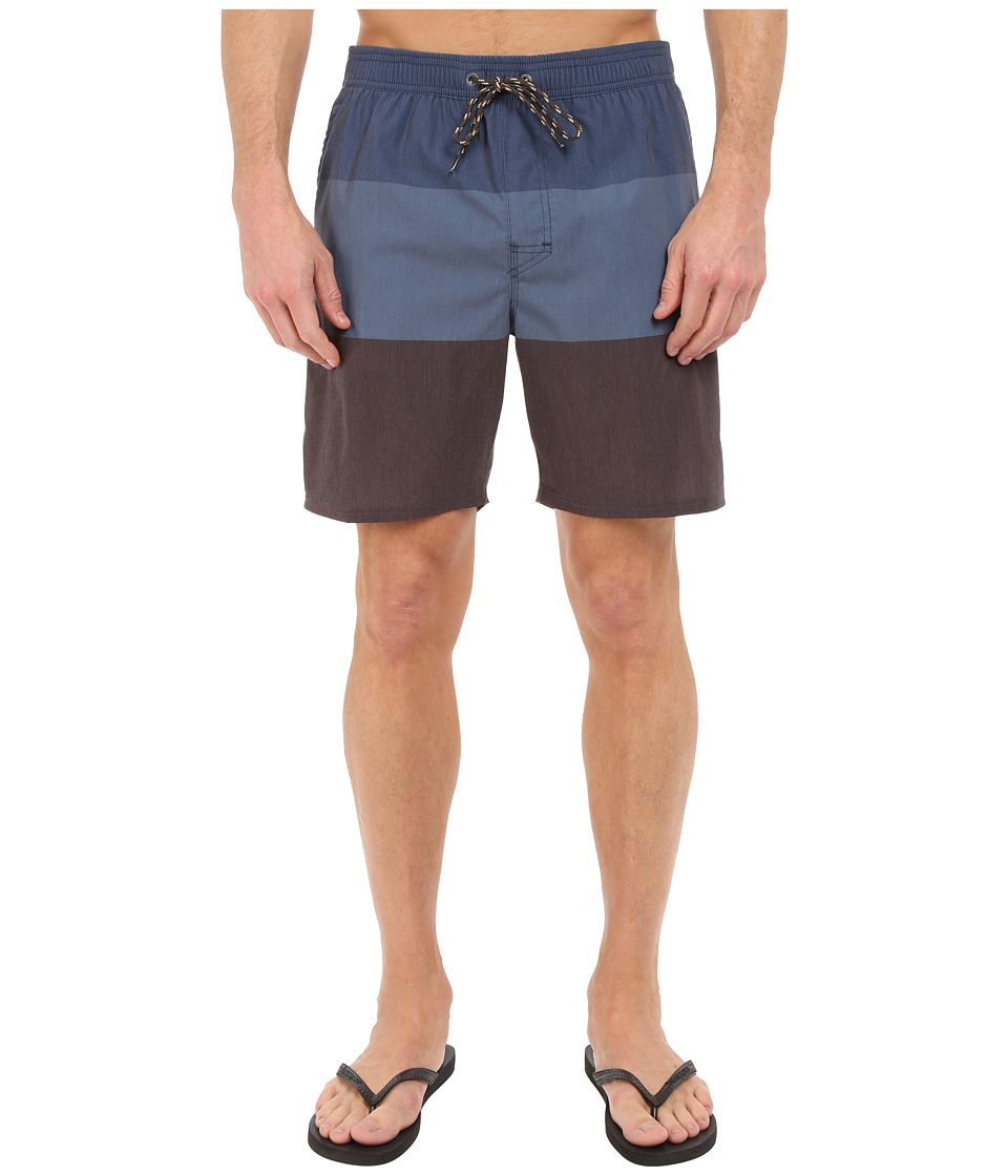 Rip Curl - Trilogy Volley Walkshorts (Blue) Men's Swimwear