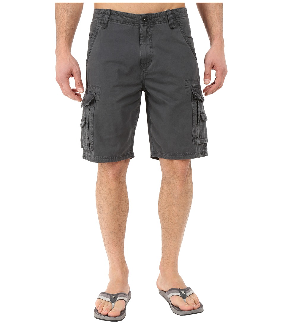 Rip Curl - Trail Cargo Walkshorts (Charcoal) Men's Shorts