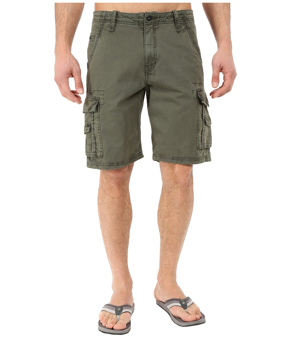 Rip Curl - Trail Cargo Walkshorts (Green) Men's Shorts