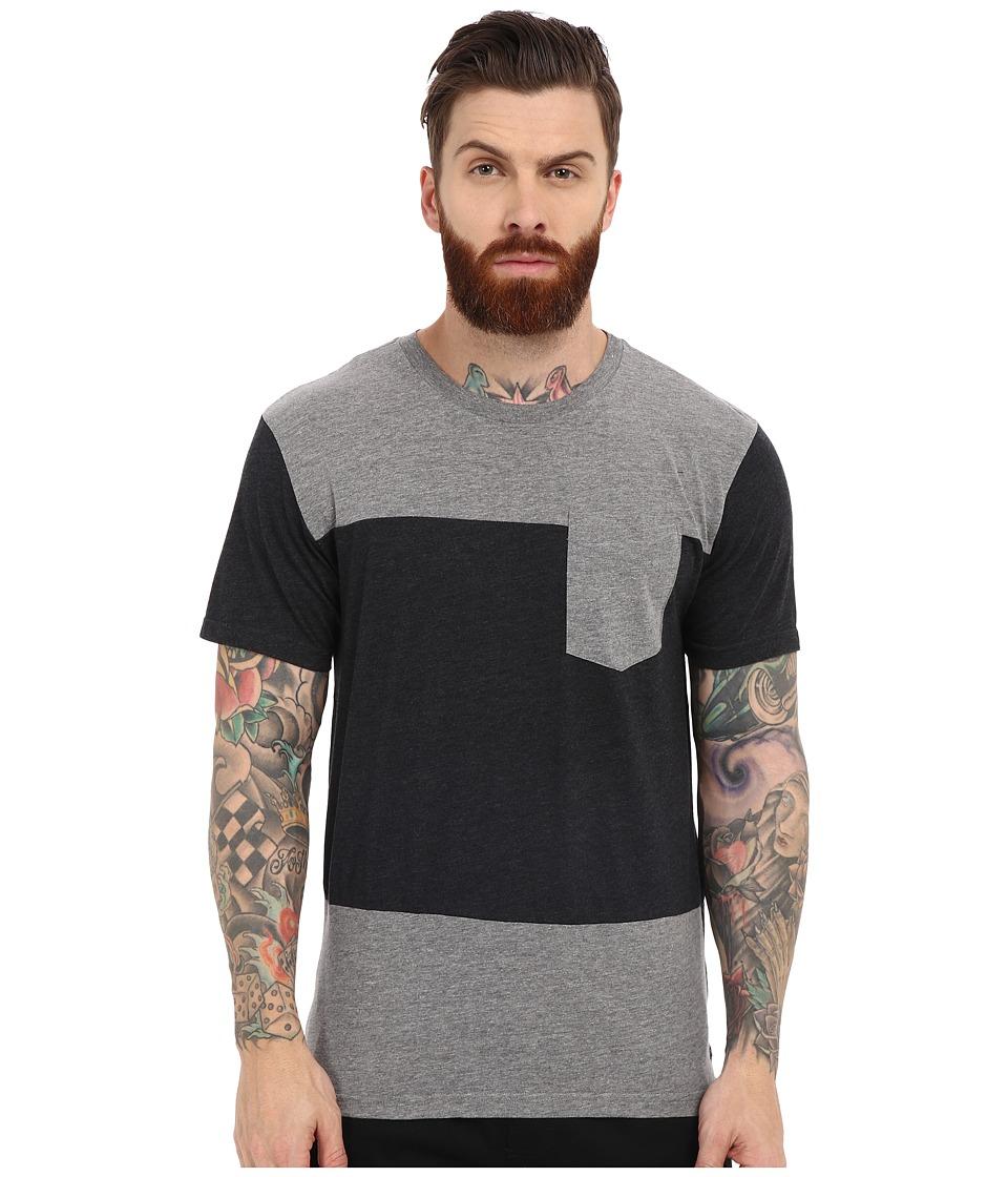 Tavik - Divide Knit (Heather Grey) Men's T Shirt