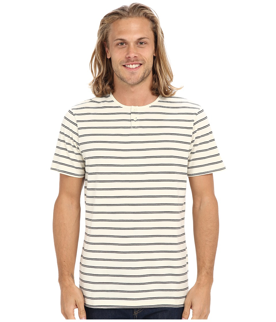 Tavik - Striker Knit (Bone) Men's Short Sleeve Pullover