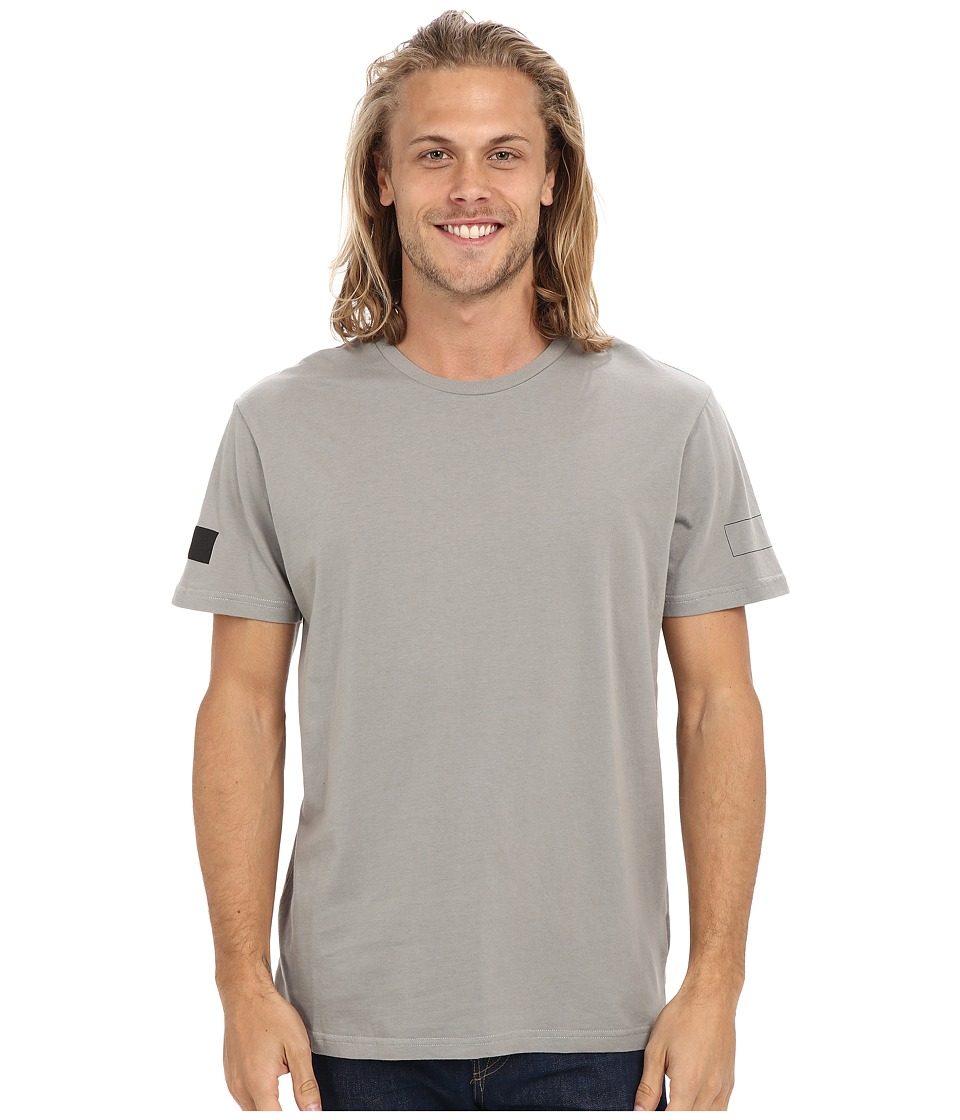 Tavik - Secto Shirt (Lithium Grey) Men's Short Sleeve Pullover