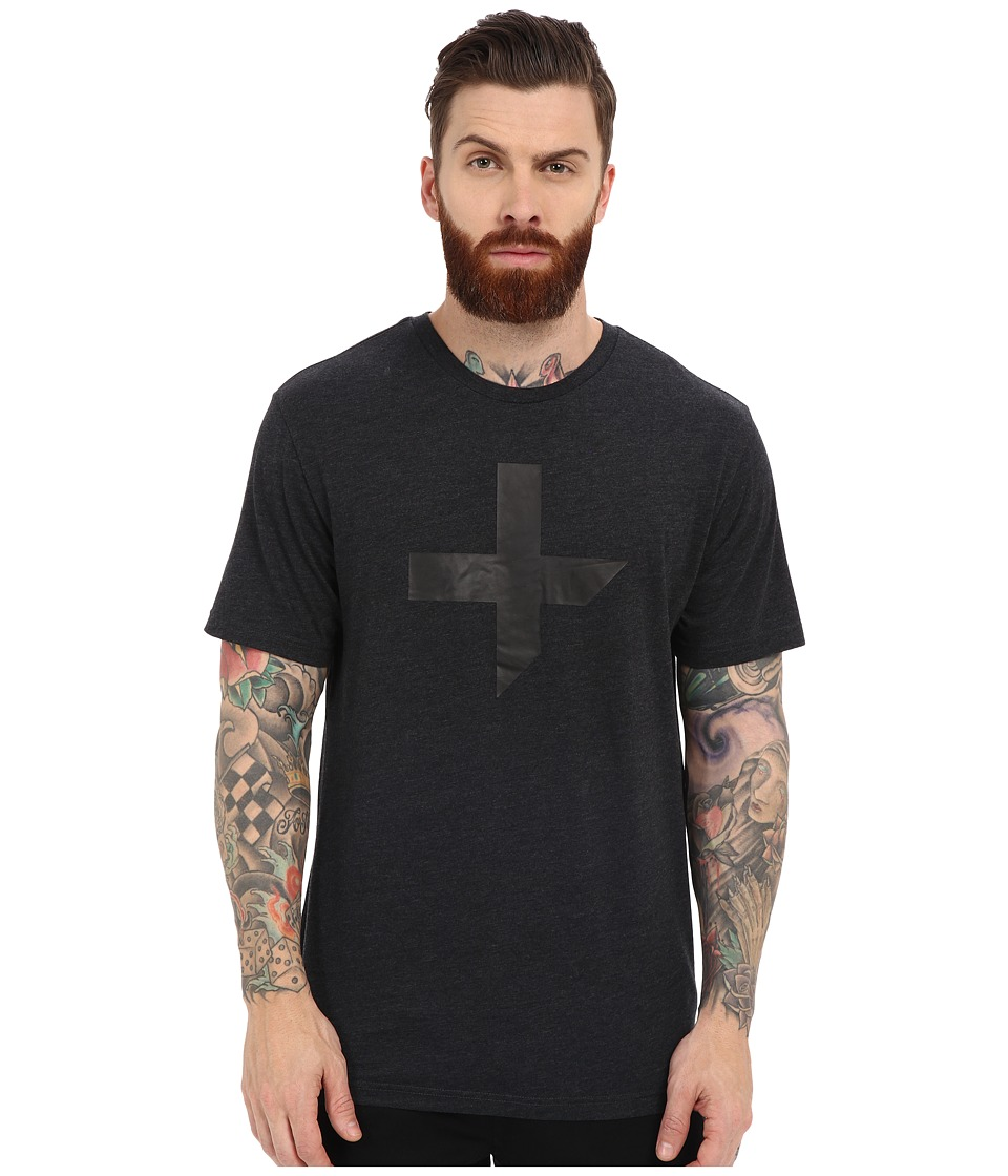 Tavik - Fragments T-Shirt (Heather Charcoal) Men's T Shirt