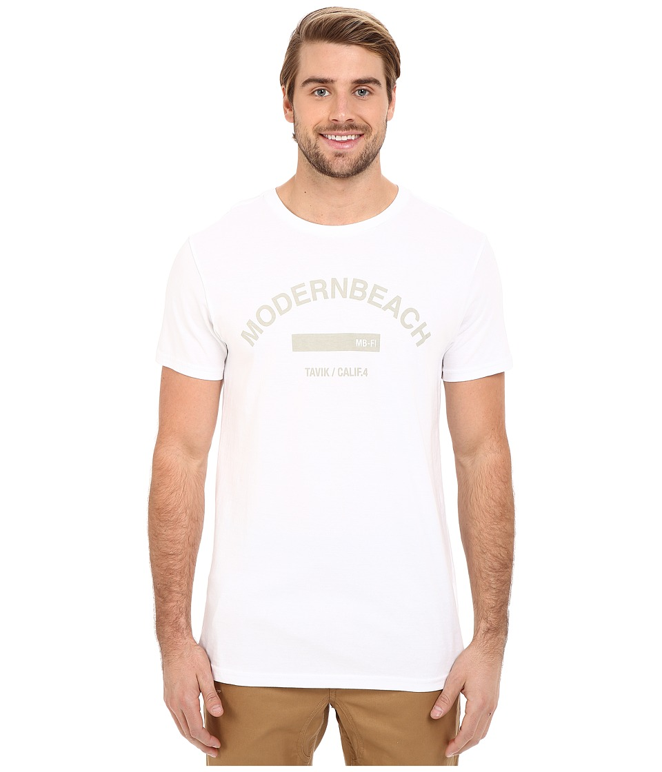 Tavik - Core T-Shirt (White) Men's T Shirt