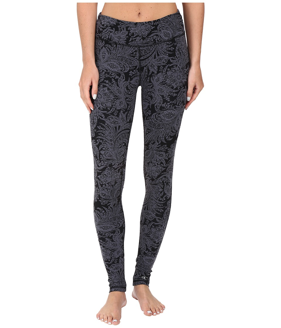 O'Neill - Divine Leggings (Black) Women's Casual Pants