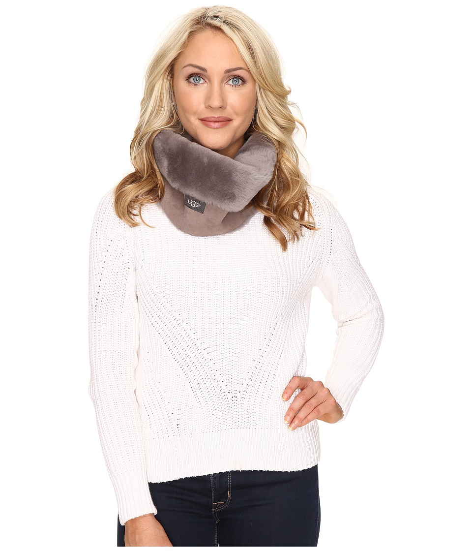 UGG - Classic Panel Snood (Stormy Grey) Scarves