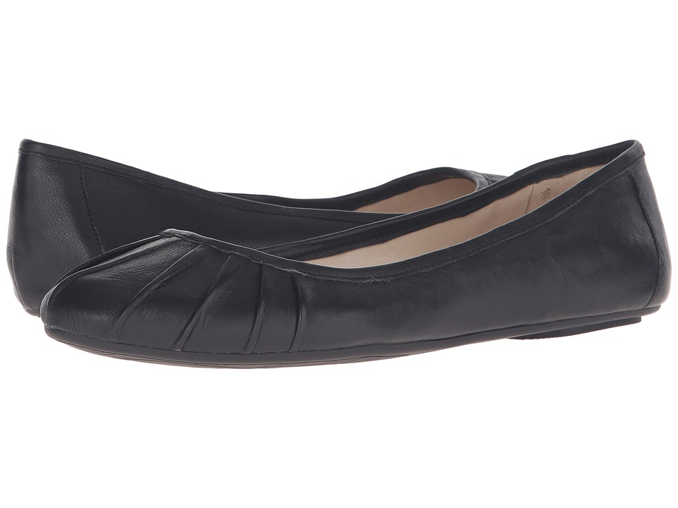 Nine West - Blustery (Black Nubuck) Women's Flat Shoes