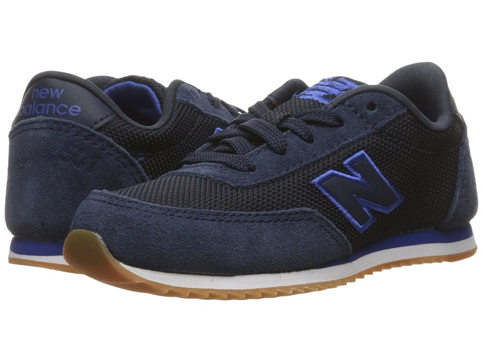 New Balance Kids - 501 (Infant/Toddler) (Blue/Red) Kids Shoes