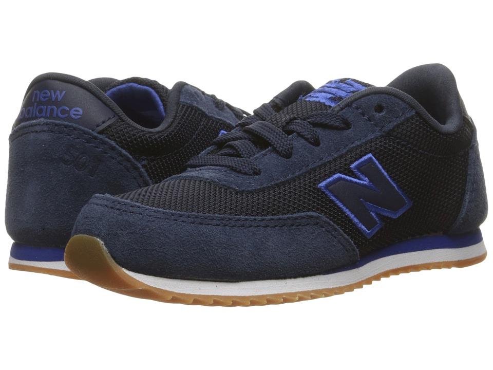 ... New Balance Kids 501 (Infant Toddler) (Blue Red) Kids Shoes ... 942318ec5