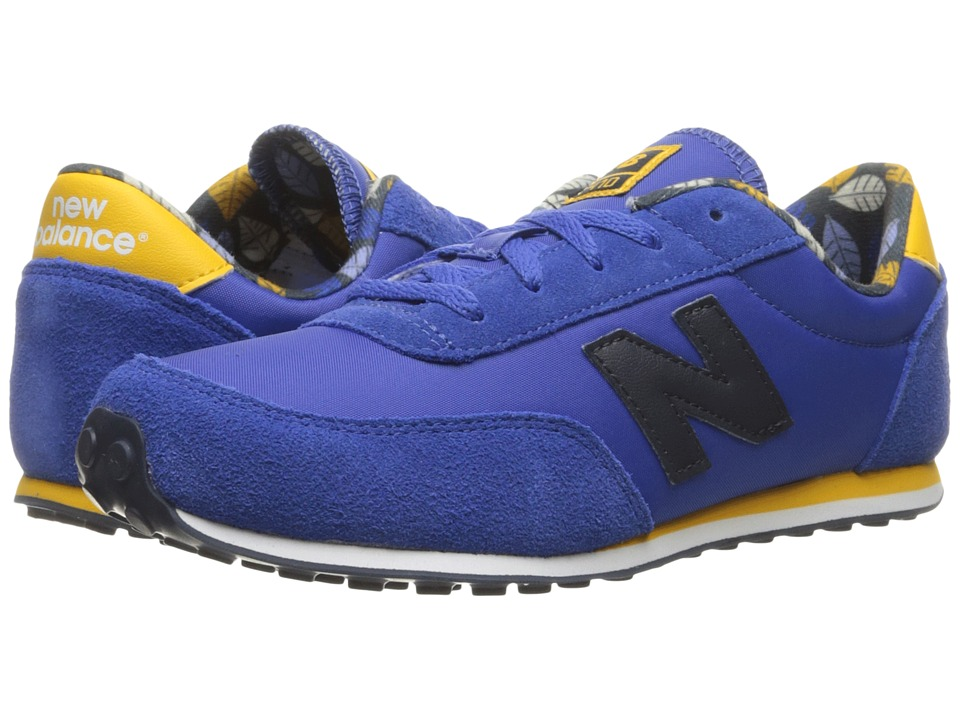 New Balance Kids 410 (Little Kid/Big Kid) (Blue/Dark Yellow) Boys Shoes