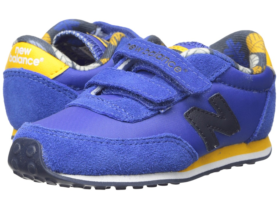 New Balance Kids 410 (Infant/Toddler) (Blue/Dark Yellow) Boys Shoes