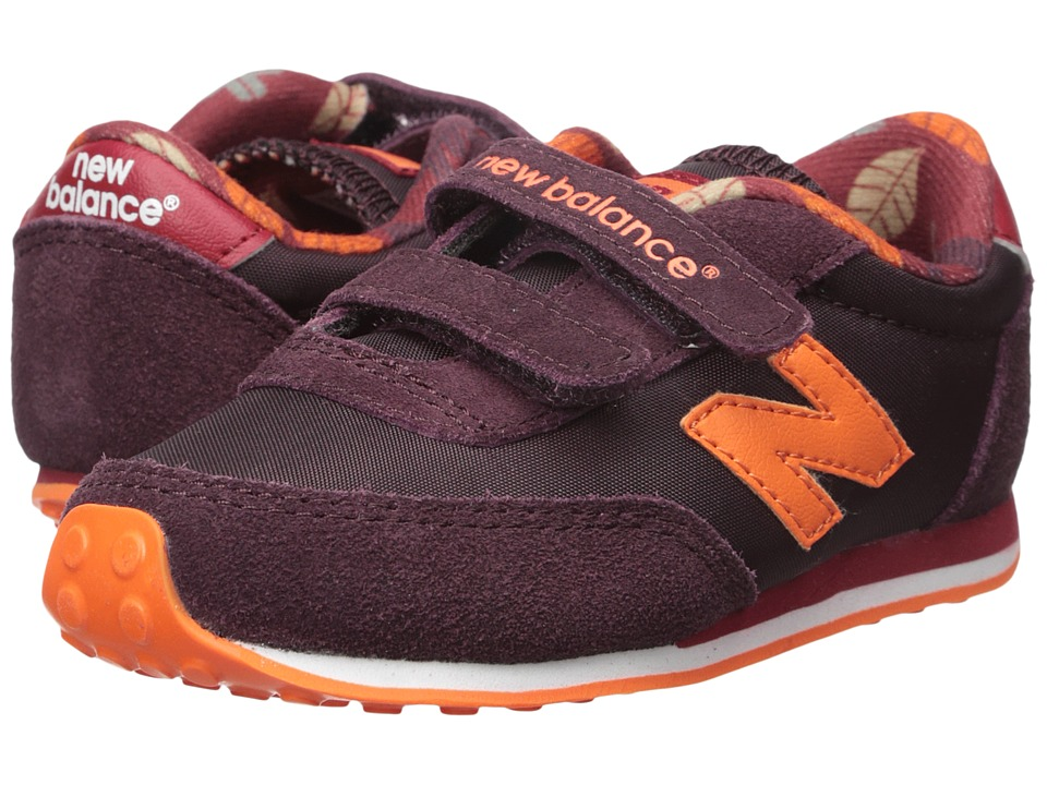 New Balance Kids - 410 (Infant/Toddler) (Burgundy) Kids Shoes