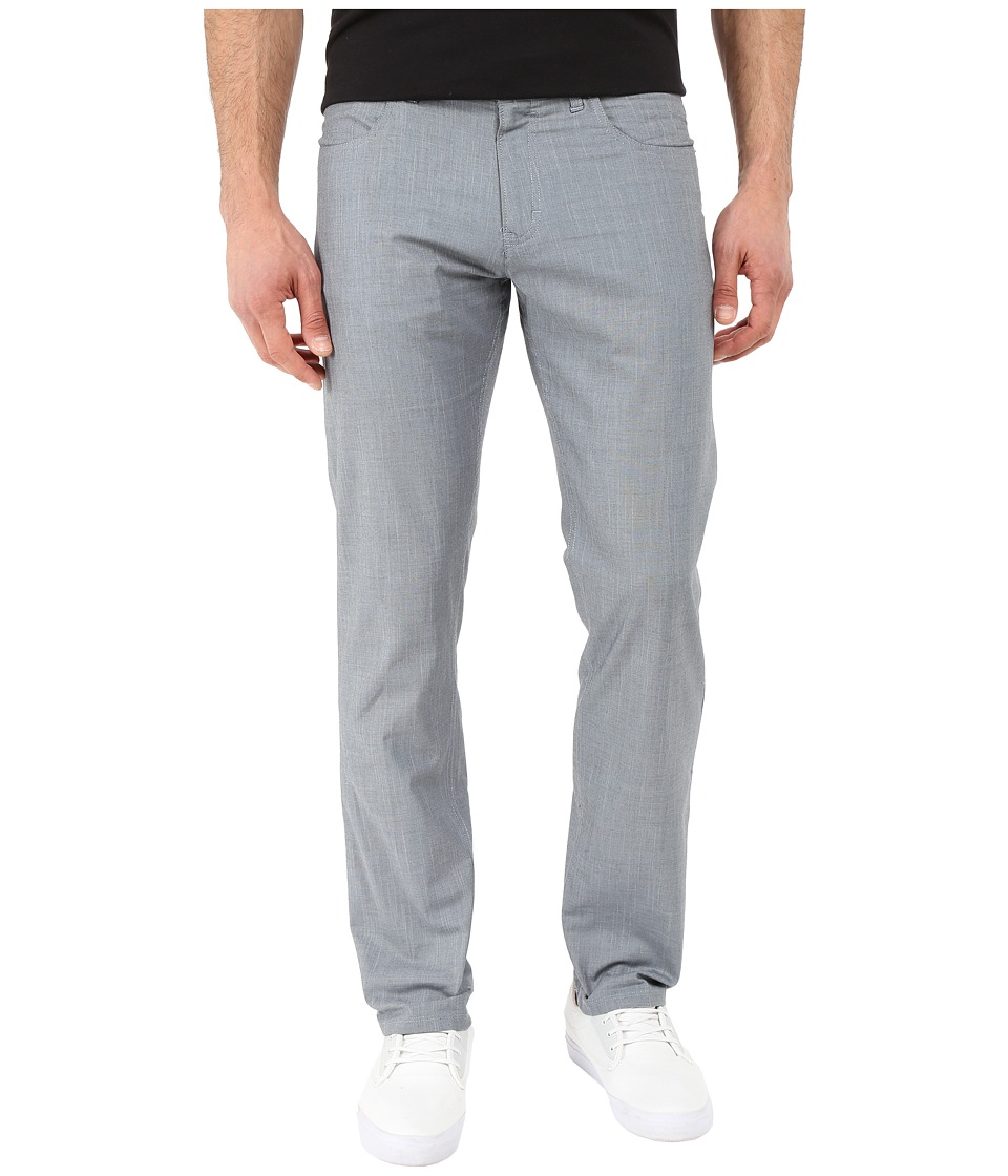 Calvin Klein - Slim Fit Twill 5 Pocket Pant (Dusty Blue) Men's Casual Pants