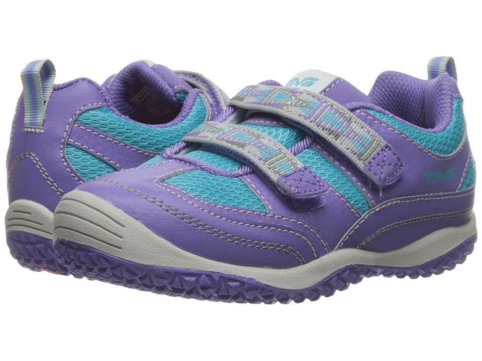 Teva Kids - Cartwheel (Toddler) (Light Blue/Purple) Girls Shoes