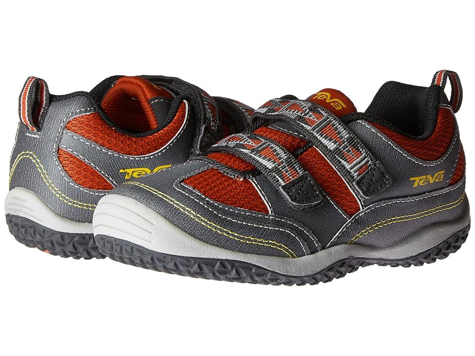 Teva Kids - Cartwheel (Toddler) (Dark Grey/Red) Boys Shoes