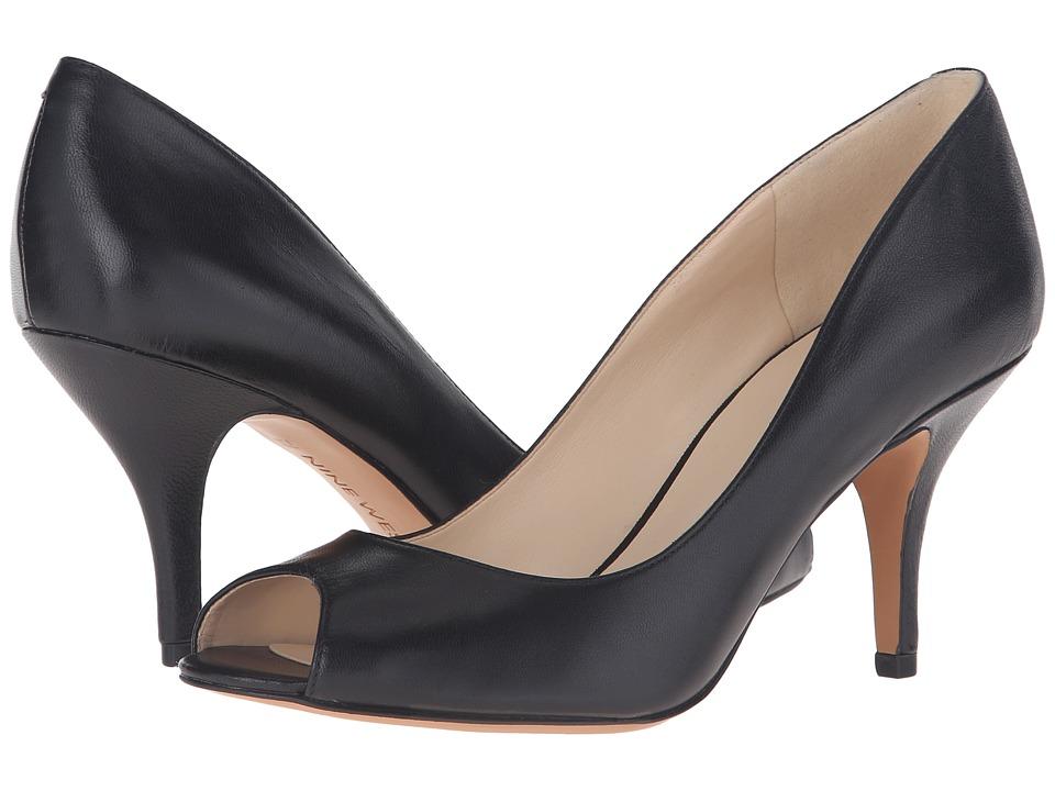 Nine West - Orissa (Black Leather) Women's Shoes