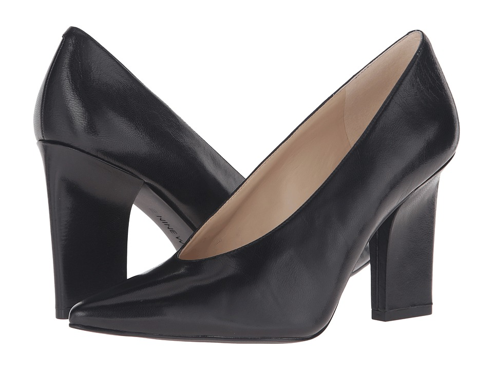 Nine West - Udala (Black Leather) Women's Shoes