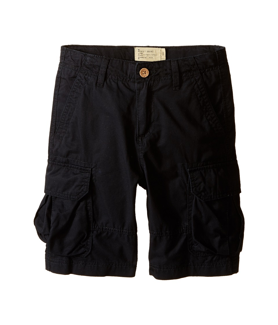 Lucky Brand Kids - Soldier Shorts (Big Kids) (Moonless Night) Boy's Shorts
