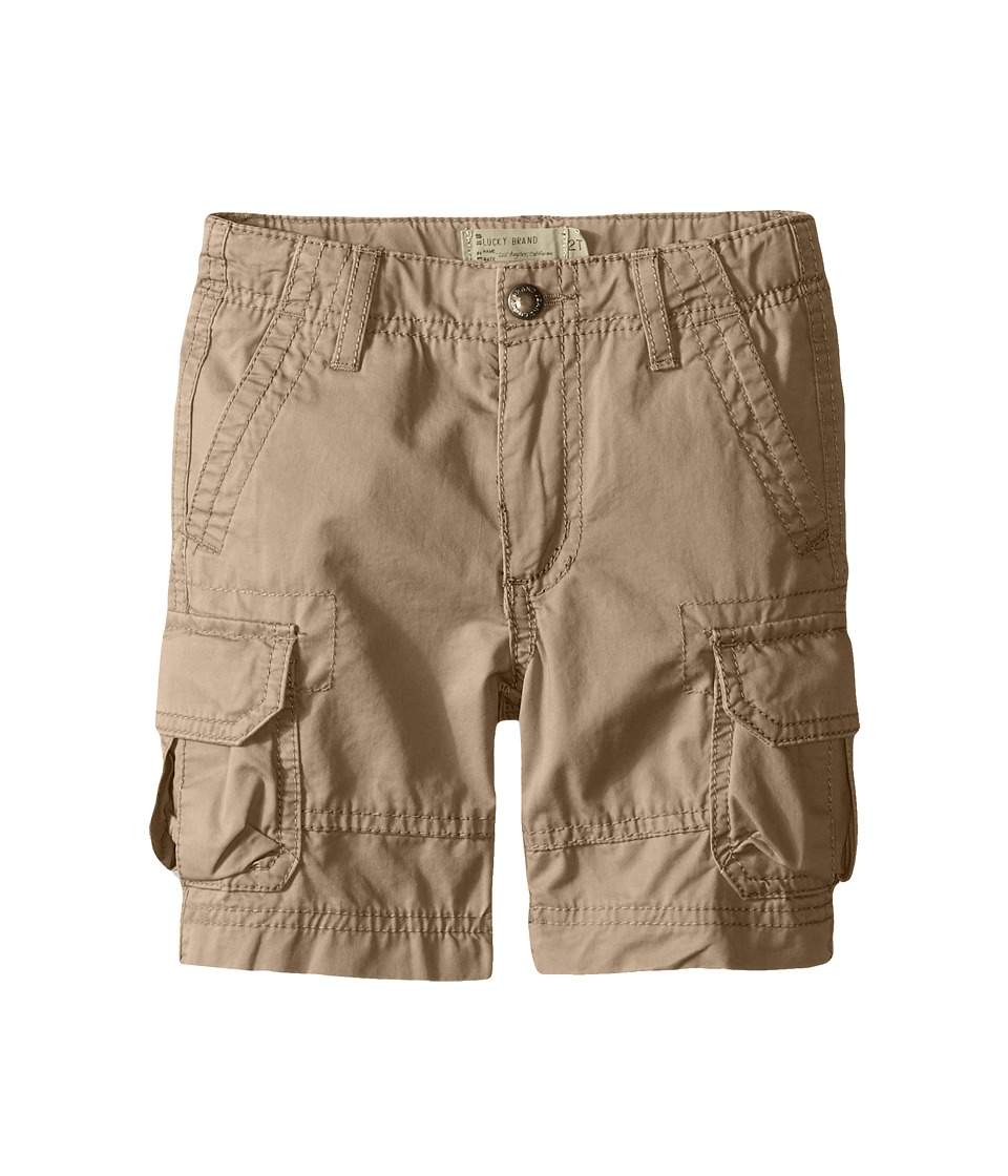 Lucky Brand Kids - Soldier Shorts (Big Kids) (Light Khaki) Boy's Shorts
