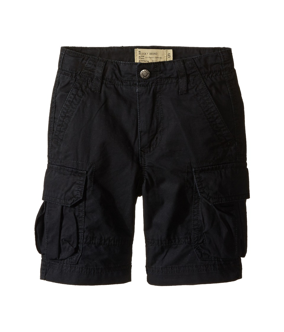 Lucky Brand Kids - Soldier Shorts (Little Kids/Big Kids) (Moonless Night) Boy's Shorts