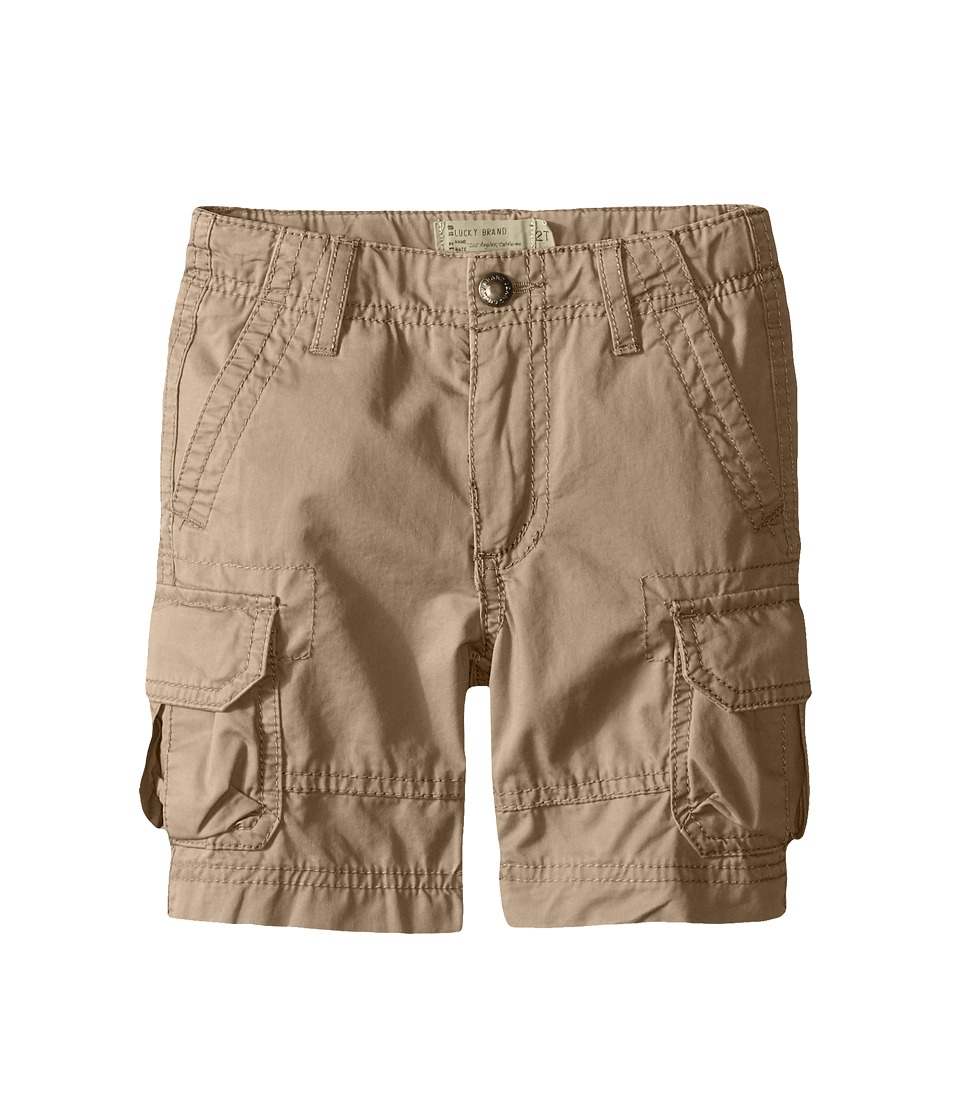 Lucky Brand Kids - Soldier Shorts (Little Kids/Big Kids) (Light Khaki) Boy's Shorts