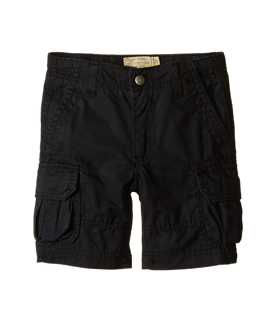 Lucky Brand Kids - Soldier Shorts (Toddler) (Moonless Night) Boy's Shorts