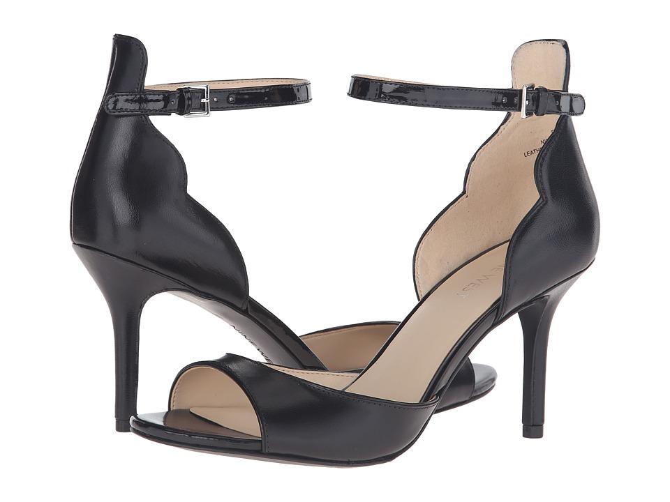 Nine West - Gynwth (Black/Black Leather) Women's Shoes