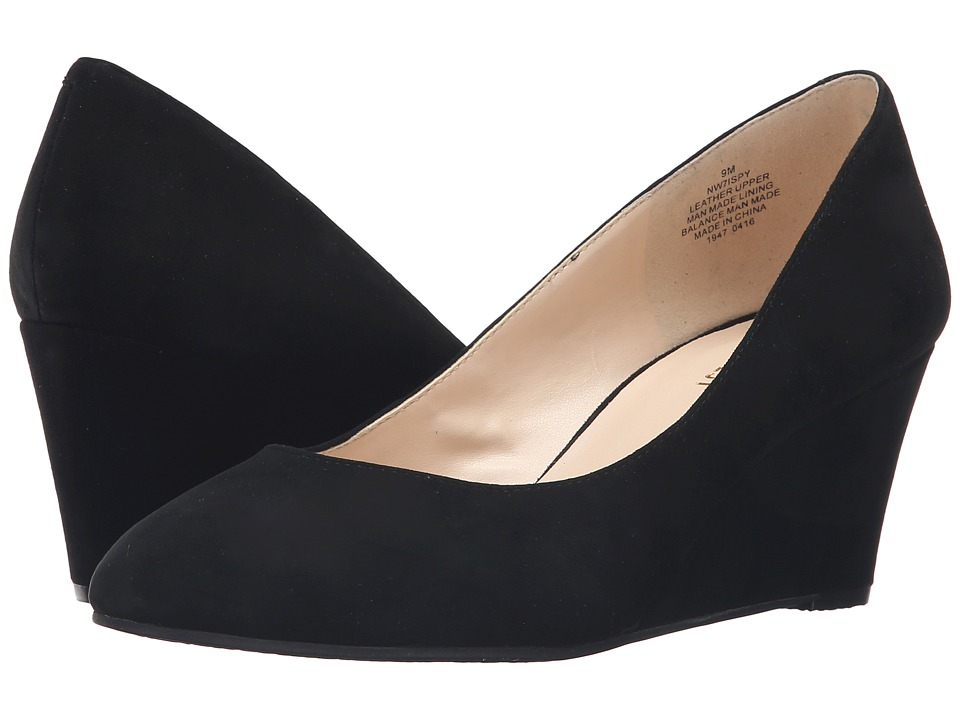Nine West - ISpy (Black Suede) Women's Shoes