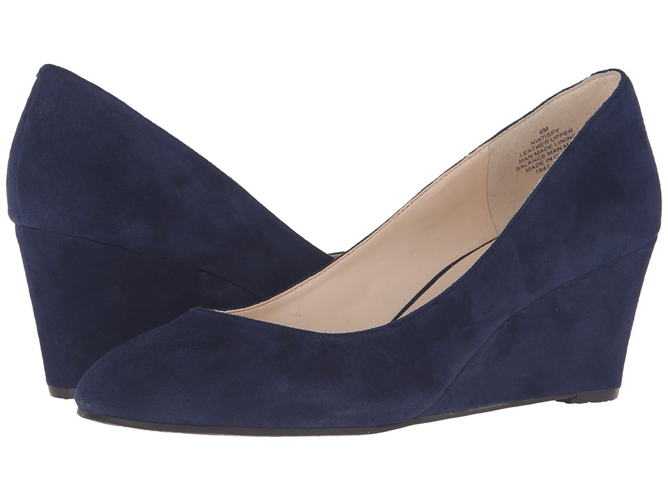 Nine West - ISpy (Navy Suede) Women's Shoes