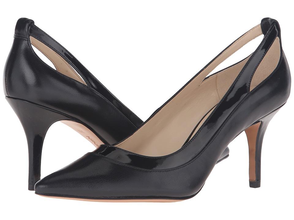 Nine West - Kano (Black/Black Leather) Women's Shoes